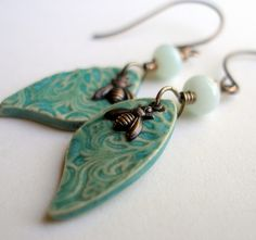 Earrings by Lorelei Eurto.