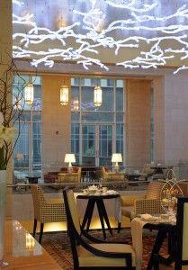 The Ritz-Carlton - Lobby Lounge, Dubai: http://www.dubaichronicle.com/2011/04/30/afternoon-tea-at-ritz-carlton-difc/