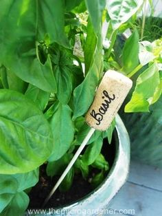 20 Creative DIY Plant Labels & Markers
