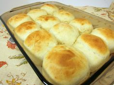 Week night dinner rolls.  Super easy and fast.