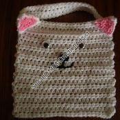 Cat Bib crochet pattern