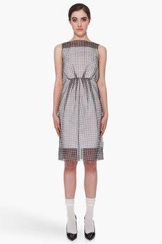 Yuck.  Depressing.  MARC JACOBS Checkered Daiane Dress