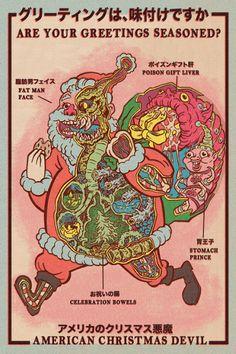 The American Christmas Devil....