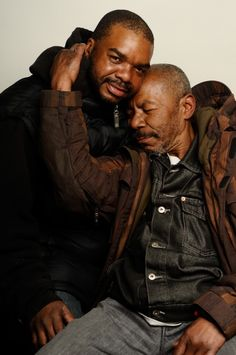 A man and his son reunited for the first time in 30 years because of a Help-Portrait event. They were separated due to alcohol abuse. This is their very first portrait together.