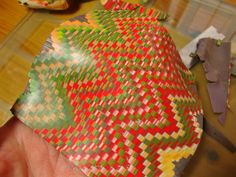 Scrap patterns tutorial No 3, bargello quilt