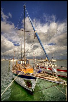 Beautiful Color and Detail - Also a Beautiful Sailboat!