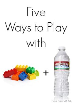 Five ways to play with your LEGO bricks AND keep cool this summer!