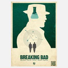 Breaking Bad retro poster