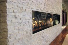 White Rock Panel | Natural Stacked Stone Veneer for Wall Cladding