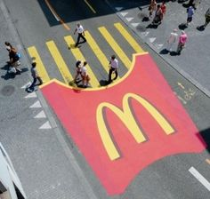 Another great advertising from McDonalds