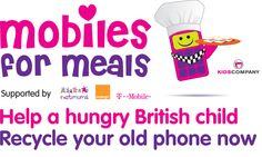 Charity Kids Company & Netmums want to turn old phones into meals for kids  #Charity