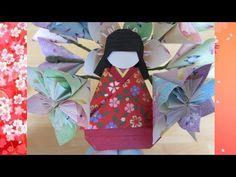 Origami Kimono - Ohinasama