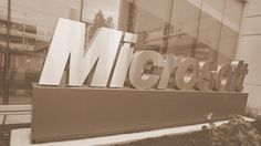Microsoft sign vintage - Tech Recap