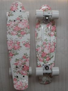 2014 Penny Colourful Pattern Skateboards Board Complete 22inch,Flower