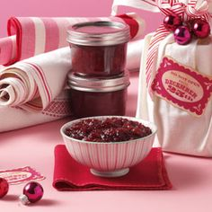 Christmas Cranberries Recipe from Taste of Home --