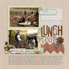 Ideas for Scrapbooking Picnics & Outdoor Meals   Debbie Hodge   Get It Scrapped