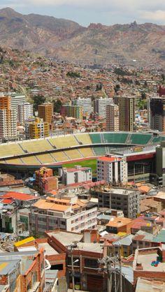La Paz City. BOLIVIA