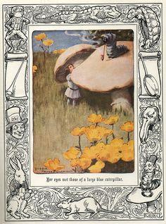 Alice in Wonderland, illustrations by  Bessie Pease Gutmann