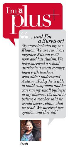 Read Ruth's Survivor Story.