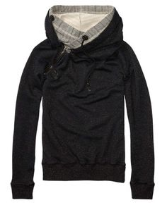 Sweater With Double Layer Hood