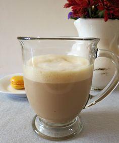 Skinny Vanilla Latte - A light, frothy, warm vanilla flavored coffee drink.