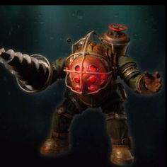 BioShock Big Daddy - Bouncer LED Action figure ~ WANT