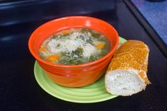 Crafts, Cakes, and Cats: Crock pot Italian wedding soup with turkey meatballs