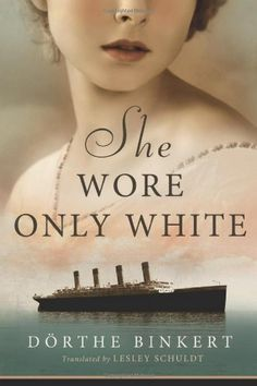 She Wore Only White by Dörthe Binkert, http://www.amazon.com/dp/B006JTTJYY/ref=cm_sw_r_pi_dp_uQSmtb12QNTMQ