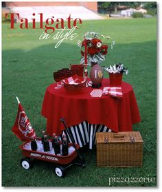 fancy tailgate party (for the ladies)