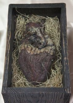 "The mummified heart of a Norse giant.   The inscription on the casket is written in old Norse runes and reads:    ""Behold! Within this casket lies the heart of the fierce and terrible giant known as Hrungnir, slain this day by Fafrd the Red whose bravery and cunning shall live forever!"""