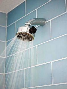 Are you looking to replace your showerhead? Read our tips first: http://www.bhg.com/home-improvement/remodeling/budget-remodels/weekend-home-projects/#page=20
