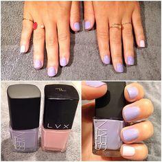 pink & purple nails