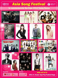 '2012 Asia Song Festival' line up announced