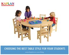 Choosing the Best Table Style:  http://buff.ly/1mRCmyG