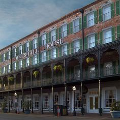 """Whether it's seeing dead people or a mild case of the willies down in the basement, ghosts and spirits are serious topics for some people. The Marshall House makes USA Today's list of """"10 Most Haunted Places in the USA"""""""