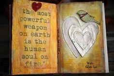 from Junelle Jacobsen's heart journal (quote from Ferdinand Foch)