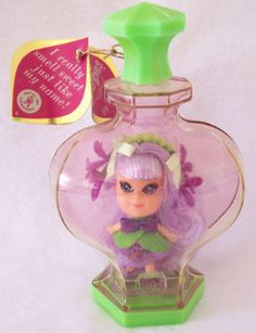 Liddle Kiddles Violet. Remember these?!  And how they smelled?!