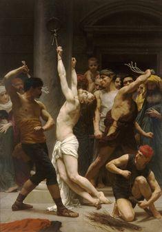 Bouguereau's Die Geisselung Christi
