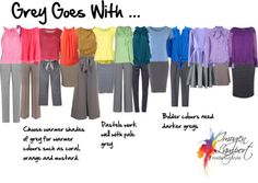 How to Mix Colors - Grey goes with ...