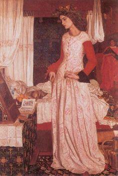 Guinevere by William Morris :: artmagick.com