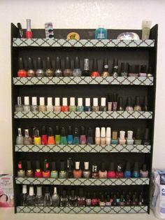 DIY Nail Polish Rack! - Product Girl