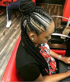 we love these braids for a quick switch up!
