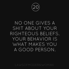 Law 20 ... Yep !!!