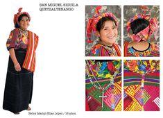 Traje tipico San Miguel Siguila, Quetzaltenango