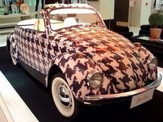 Houndstooth VW.