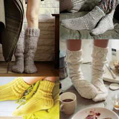 house socks patterns / get on my feet