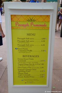 Pineapple Promenade  The 2014 Epcot International Flower & Garden Festival http://www.wdwinfo.com/wdwinfo/guides/epcot/events/ep-flower-garden.htm