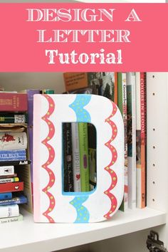 Design a Letter tutorial featuring #shapetape by @debthompson