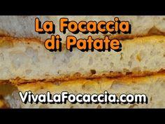 Ricetta Focaccia (Schiacciata) con Patate