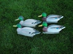 Touch up painting decoys, Pre and Post